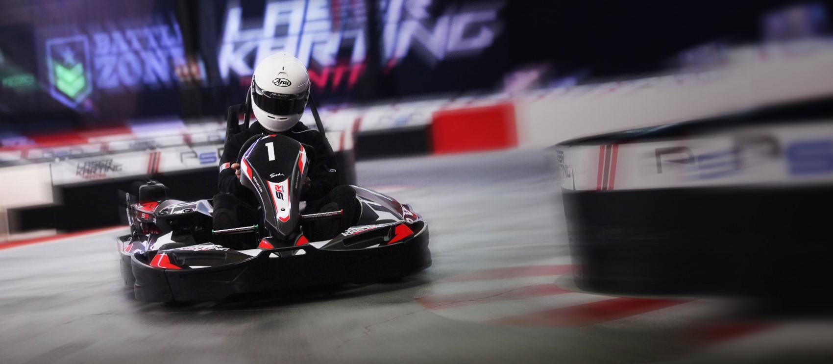 Un Karting Indoor de 400m